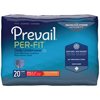 First Quality Prevail® Per-Fit® Men Underwear, Moderate Absorbency, Medium, (34 to 46), 20/BG MON 56913101