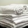 Royal Blue Washcloth Royal Silver Basics 12 X 12 Inch White Reusable, One Dozen MON 57408100