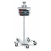 Welch-Allyn Spot Vital Signs® Monitors Mobile Stand With Basket MON 57672500