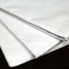 Royal Blue Bed Sheet Flat 66 X 104 Inch White Cotton 55% / Polyester 45% Reusable, 1 Dozen MON 57798100
