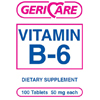 McKesson Vitamin B-6 Supplement 50 mg Strength Tablet 100 per Bottle MON 57852700