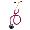 3M Classic Stethoscope Littmann Classic III Rainbow / Raspberry 1-Tube 27 Inch Tube Double Sided Chestpiece, 1/ EA MON 986417EA