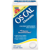 Glaxo Smith Kline Calcium Supplement Os-Cal 500 + Extra D 200 IU / 500 mg Strength Chewable Tablet 60 per Bottle MON 58132700