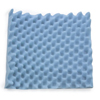 McKesson Seat Cushion 18 X 16 X 3 Inch Convoluted Foam MON 58134301