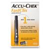 Roche Lancet Device Kit Accu-Chek® FastClix Adjustable Depth Lancet Needle 11 Depth Settings Track System, 12BX/CS MON 811219BX