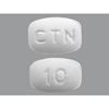 Pack Pharmaceuticals Cetirizine HCl Tab 10mg 100 per Bottle MON 59522700