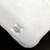 Royal Blue Washcloth Royal Silver Basics 12 X 12 Inch White Reusable, One Dozen MON 1123374DZ