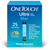 Life Scan OneTouch® Ultra® Blue Glucose Test Strips, 1/EA MON 1144800EA