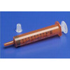 Needles Syringes Nonhypodermic Needles Syringes: Medtronic - Monoject™ 6 mL Oral Syringe, Amber