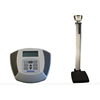 Health O Meter Physician Electronic Scale with Rod Health o meter® Digital 600 lbs. 120-240V AC - 6V DC 50-60Hz, Adapter Model ADPT50 (Included), 6 C cell 1.5V Batteries (Not Included) MON 60063700