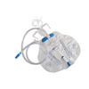 Drainage: Medtronic - Curity Urinary Drain Bag Mono-Flo Anti-Reflux Valve 2000 mL Vinyl