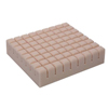 Rehabilitation Devices & Parts: Span America - Seat Cushion Geo-Matt® 16 X 18 X 4 Inch Segmented Foam