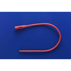 "Urological Catheters: Teleflex Medical - Urethral Catheter Robinson / Nelaton Tip Red Rubber 16 Fr. 16"""