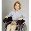 Wheelchair Parts Accessories Fiber Filled Wheelchair Cushions: Skil-Care - Lateral Stabilizer / Armrest Bolster 5""