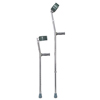 McKesson Forearm Crutch Adult Steel 300 lbs. MON 1095260BX