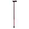 Apex-Carex Standard Cane Designer Aluminum 31 to 40 Red MON 61443801
