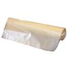 Colonial Bag Trash Liner Clear 60 Gallon 38 X 58 Inch, 20/RL 10RL/CS MON 62004100