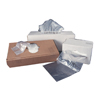 Colonial Bag Trash Liner Clear 60 Gallon 38 X 58 Inch, 150EA/CS MON 62114100