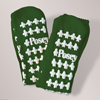 slippers: Posey - Fall Management Slipper Socks Standard Green (6239G)