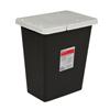 medtronic: Medtronic - SharpSafety™ RCRA Hazardous Waste Container Hinged Lid, Black 18 Gallon