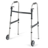 Walkers: Invacare - Dual Release Folding Walker Adjustable Height PVC 300 Lbs