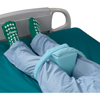 Posey Knee Abduction Wedge Posey® 4 X 5 X 7 Inch Foam Hook and Loop Closure Straps MON 63073000