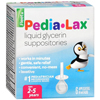 OTC Meds: C.B. Fleet - Laxative Pedia-Lax Suppository 6 per Box 2.8 Gram Strength Glycerin