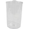 Arts Crafts Supplies Craft Supplies Dispensers Containers: Mabis Healthcare - Jar Sundry W/Clr Lid EA