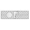 Nu-Hope Labs Hernia Belt Nu-Form® Large 4 Inch MON 64124900