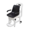 Detecto Scale Chair Scale Digital 400 X 0.2 lbs. White with Black Chair Batteries MON 64753700