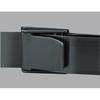 Posey Gait Belt Posey E-Z Clean 60 Inch Black Nylon MON 65453000