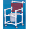 Innovative Products Commode / Shower Chair Fixed Arms PVC Mesh Backrest 38 MON 65573300