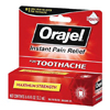 McKesson Oral Pain Reliever Orajel® 0.25 oz. Gel Tube MON 66182700