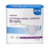 McKesson Extended Wear Heavy Absorbency Briefs, Medium, 14/BG MON 66263100