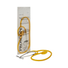 McKesson Disposable Stethoscope Proscope 664 Yellow 1-Tube 22 Tube Single Sided Chestpiece - Diaphragm Only MON 66402500