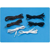 Sammons Preston Shoelaces Tylastic® Black Elastic, 2PR/PK MON 67014000