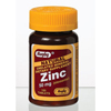 Watson Laboratories Zinc Supplement Rugby® 50 mg Tablets, 100 per Bottle MON 67102700
