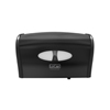 McKesson Bath Tissue Dispenser Black Plastic Manual 2 Rolls Wall Mount, 1/CS MON 67234100