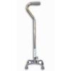 McKesson Quad Cane sunmark® Aluminum 29-1/2 to 38 Inch Chrome MON 67423800