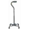 McKesson Quad Cane sunmark® Aluminum 29-1/2 to 38-1/2 Inch Chrome MON 67453800