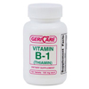 McKesson Vitamin B-1 Supplement 100 mg Tablets, 100EA per Bottle MON 68012700