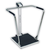 Detecto Scale Stand-On Scale Detecto LCD 800 lbs. X 0.2 lbs. Stainless Steel AC Adapter / 6 AA, 1/ EA MON 479718EA