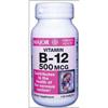 Major Pharmaceuticals Vitamin B-12 Supplement 500 mcg Strength Tablet 130 per Bottle MON 68742700