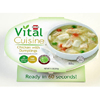 Hormel Health Labs Vital Cuisine Chicken and Dumplings 7.5 oz. Bowl Ready to Use MON 1058815CS