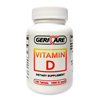 Vitamins OTC Meds Vitamin D: McKesson - Dietary Supplement Vitamin D 1000 IU Tablet 100 per Bottle