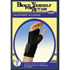 Compression Support Garments Compression Gloves: DJO - Support Glove Bell-Horn Fingerless Medium Wrist Length Hand Specific Pair