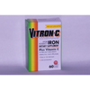 Emerson Healthcare Iron Supplement Vitron-C 125 mg / 65 mg Strength Coated Tablet 60 per Bottle MON 69982700
