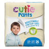 First Quality Youth Training Pants Cutie Pants Pull On 2T-3T Disposable MON 70073100