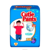 First Quality Youth Training Pants Cutie Pants Pull On 2T-3T Disposable MON 70073101