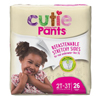 First Quality Youth Training Pants Cutie Pants Pull On 2T-3T Disposable MON 70083100